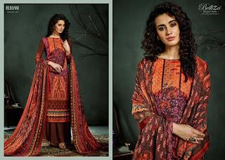 Belliza Designer Ruhani Vol 3 Winter Pashmina Collection