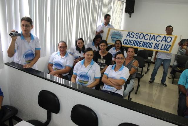 Vereadores de Delmiro Gouveia  aprovam doação de terreno para associação de autistas Guerreiros de Luz