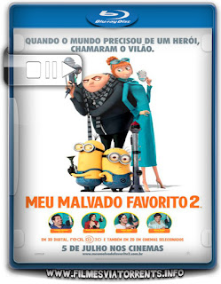 Meu Malvado Favorito 2 Torrent - BluRay Rip 1080p e 720p Dublado