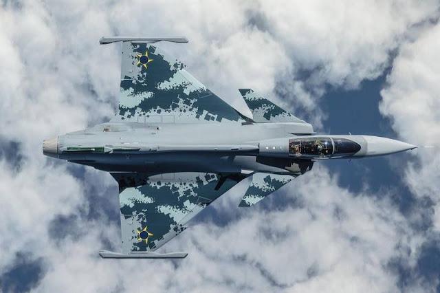 Gripen supersonic flight tests Brazil