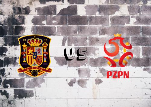 España vs Polonia  Resumen y Partido Completo