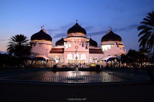 Masjid di Serambi Mekah