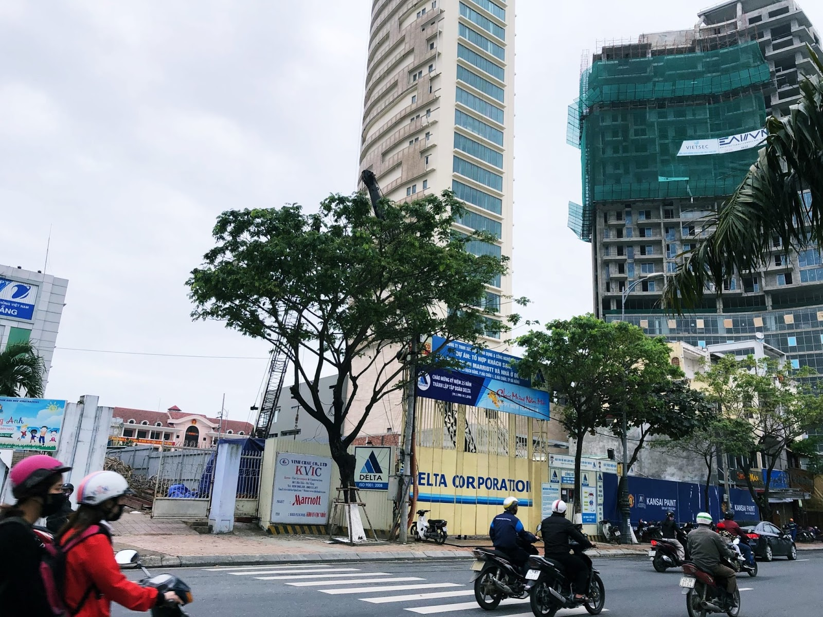 Cập nhật tiến độ xây dựng mới nhất của Marriott Đà Nẵng