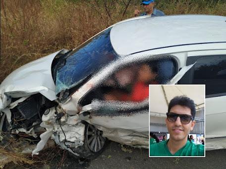 Servidor do Campus UFERSA Angicos morre em acidente na BR 304