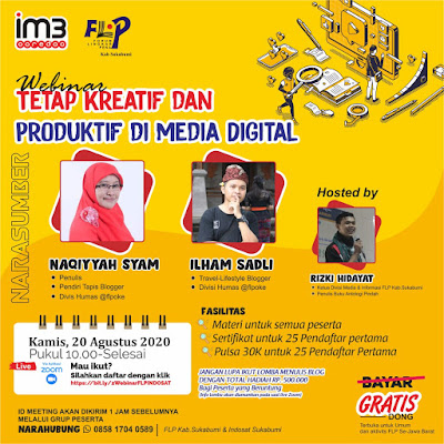 Berselancar Kreatif dan Produktif di Media Sosial Bersama Indosat