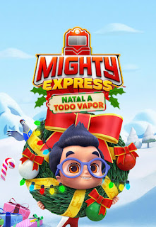Mighty Express: Natal a Todo Vapor - HDRip Dual Áudio