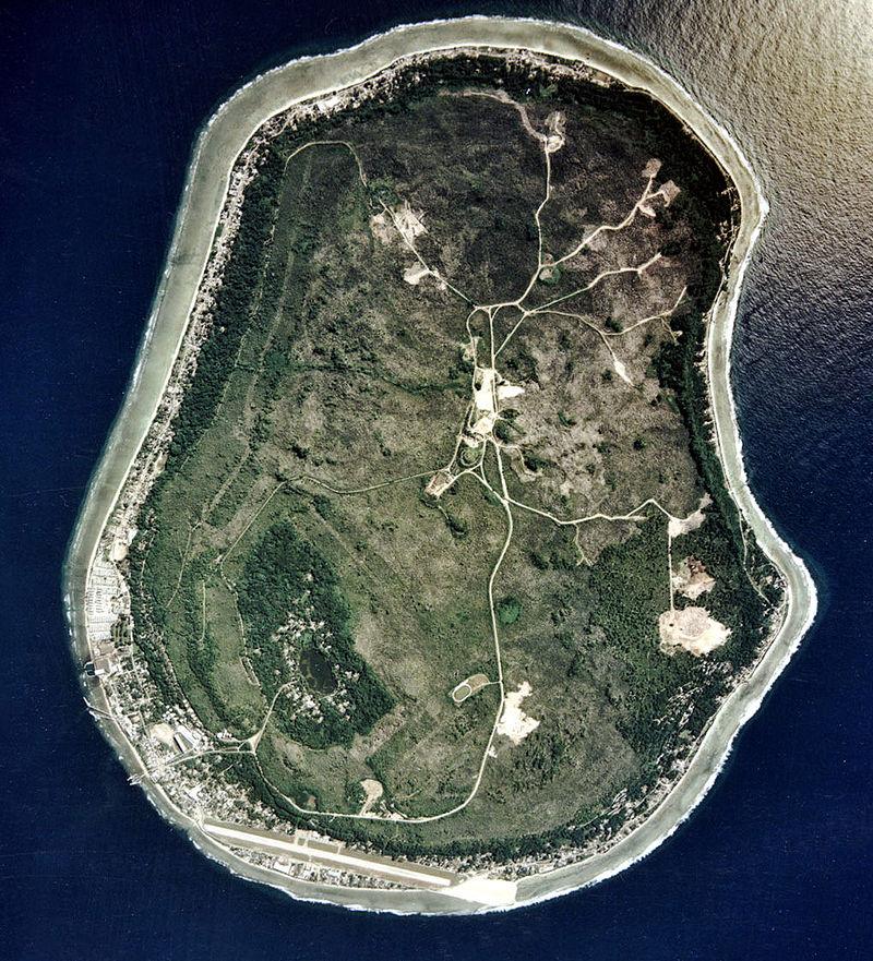 Nauru uydu görüntüsü