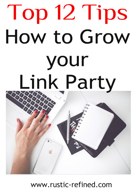 Tips on growing your blog following and Link Parties