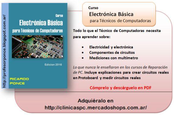 http://profesorponce.blogspot.com/2016/03/curso-de-electronica-basica-para.html
