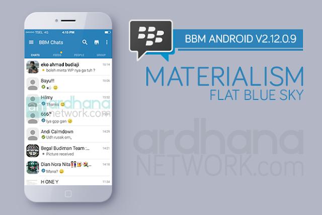 BBM Materialism Flat Blue Sky V2.12.0.9