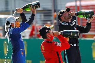 MUNDIAL F1 2020 - Bottas se corona en el regreso con Leclerc y Norris en podio