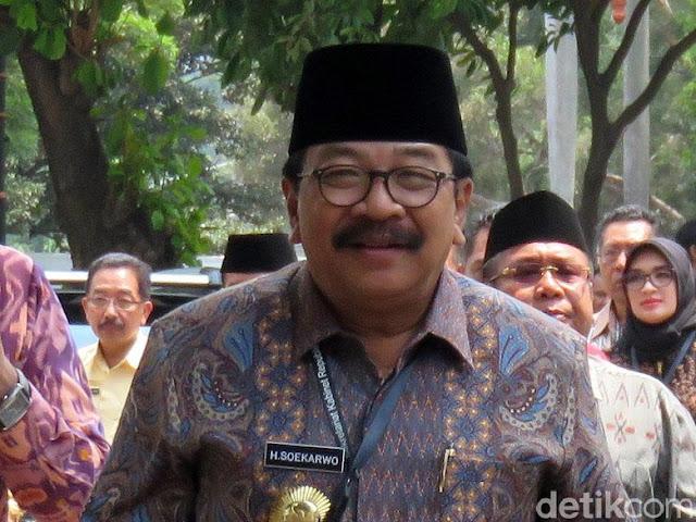 gresik24jam - gubernur soekarwo akan launching pengoperasian angkutan online