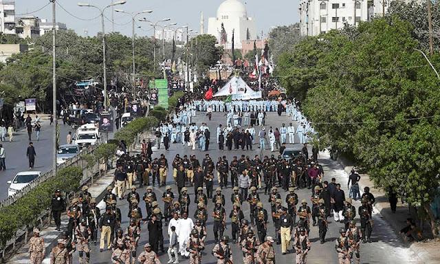 Karachi Muharram-ul-Haram Procession, Alternate Traffic Plan IsSued