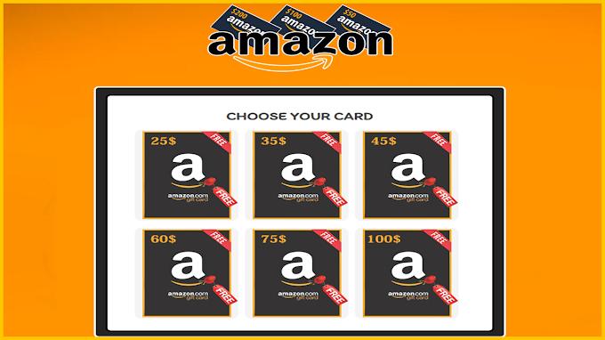 Free Amazon Gift Card Codes Generator 2021