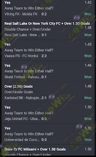 100% WINNING FOR AUGUST 03 TO AUGUST 04 SOCCER BET