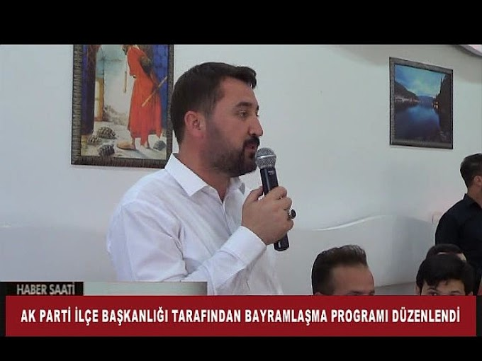KURBAN BAYRAMI DOLAYISIYLA AK PARTİ İLÇE TEŞKİLATI TARAFINDAN