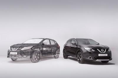 Η Nissan κατασκεύασε την μεγαλύτερη τρισδιάστατη εκτύπωση στον κόσμο σε…QASHQAI !