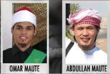 Pentotal Teroris ISIS Filipina Omar Maute dan Abdullah Maute