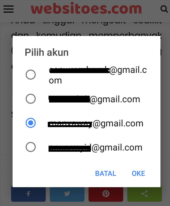 pilih-salah-satu-email-penyimpanan