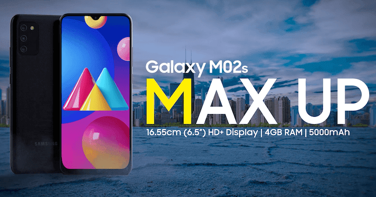 Samsung Galaxy M02s Launches With Snapdragon 450 SoC And Triple Rear Camera