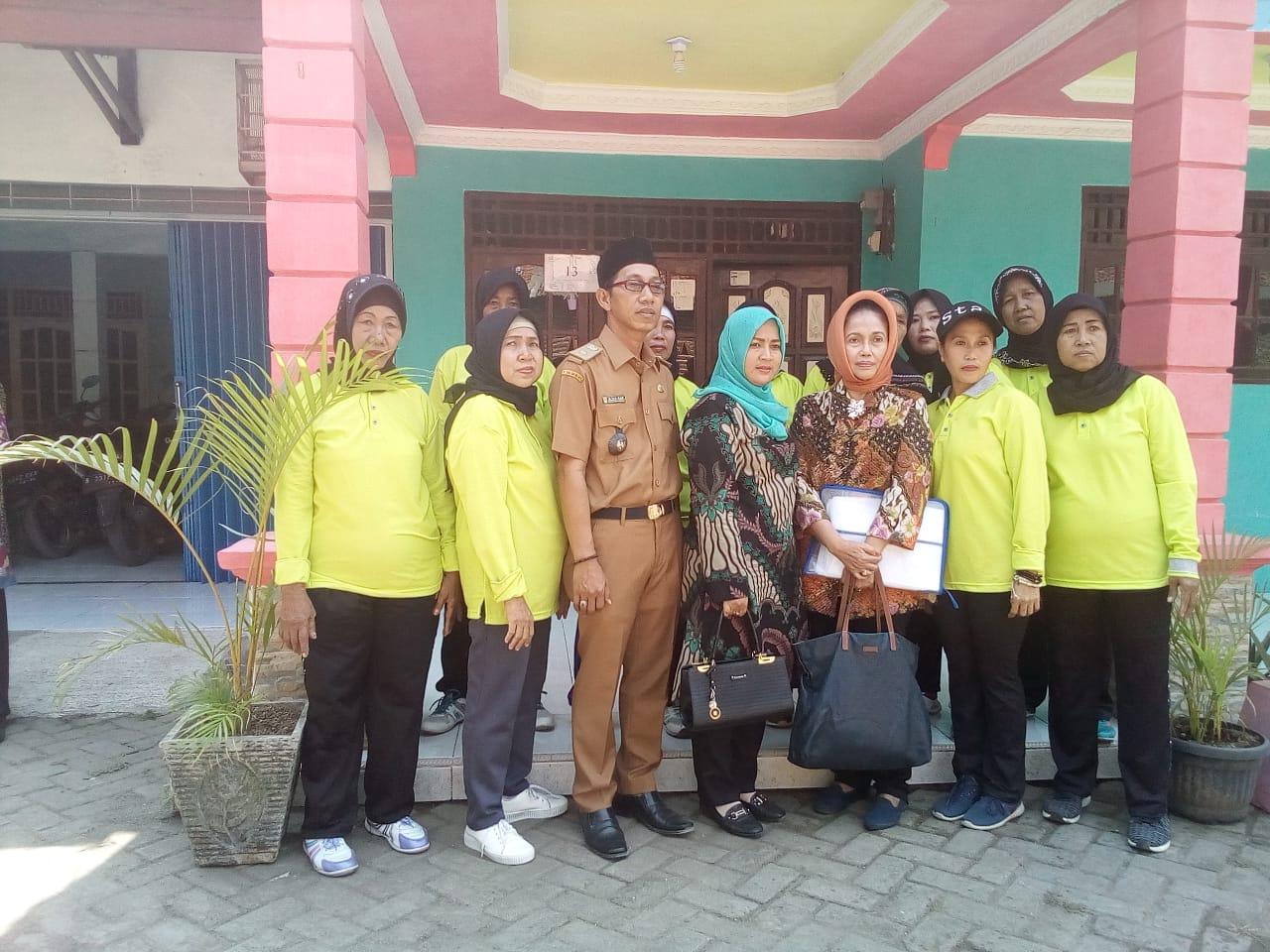 Tim Penilai Bina Wilayah Laksanakan Kunjungan Ke Desa Kramat