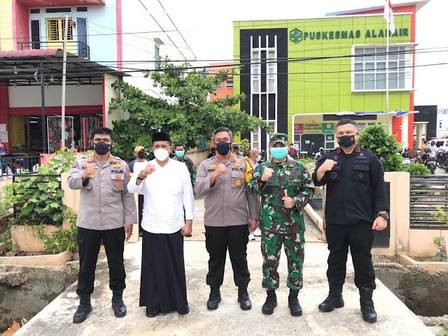 Turun ke Meranti, Polda Riau Pastikan Penanganan Covid-19 Sudah Berjalan Baik