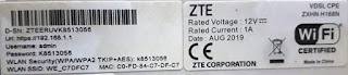 شرح طريقة اخفاء الشبكة في راوتر وي zxhn h168n