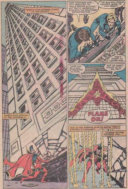 角鬥士抬起摩天大樓