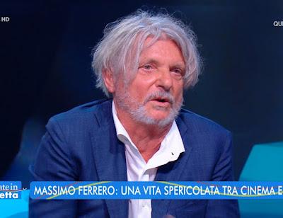 massimo Ferrero viperetta presidente Sampdoria estate in Diretta 28 luglio