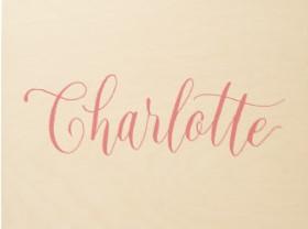 Significado Nombre CHARLOTTE