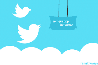 Cara Mencabut Izin Aplikasi Di Twitter