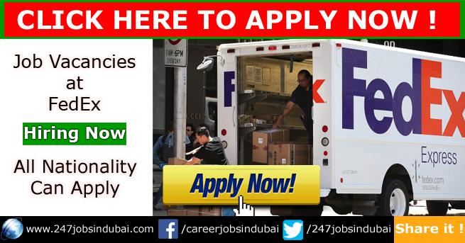 Latest FedEx Dubai Jobs and Careers