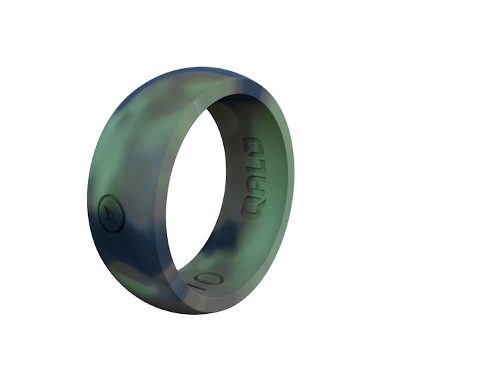Qalo Men's Outdoors Silicone Ring