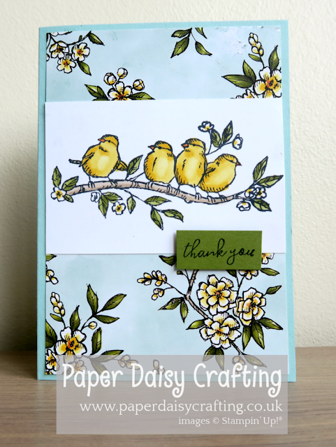 Bird Ballad Stampin Up
