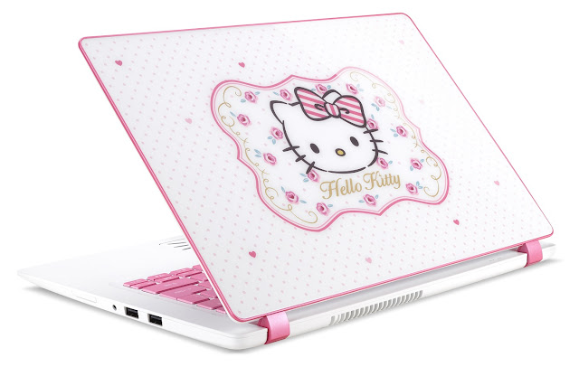 Acer x Hello Kitty Limited Edition laptop