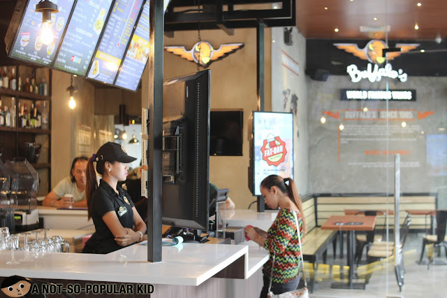 FATBURGER Interior in Metro Manila, Philippines