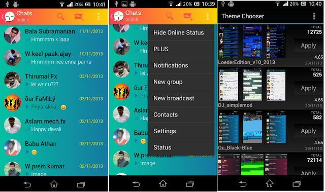Whatsapp Plus V2.22 for Android APK 2015