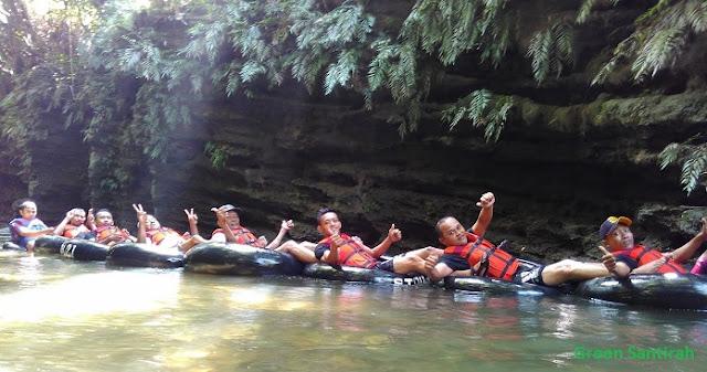 Green Santirah River Tubing Pangandaran