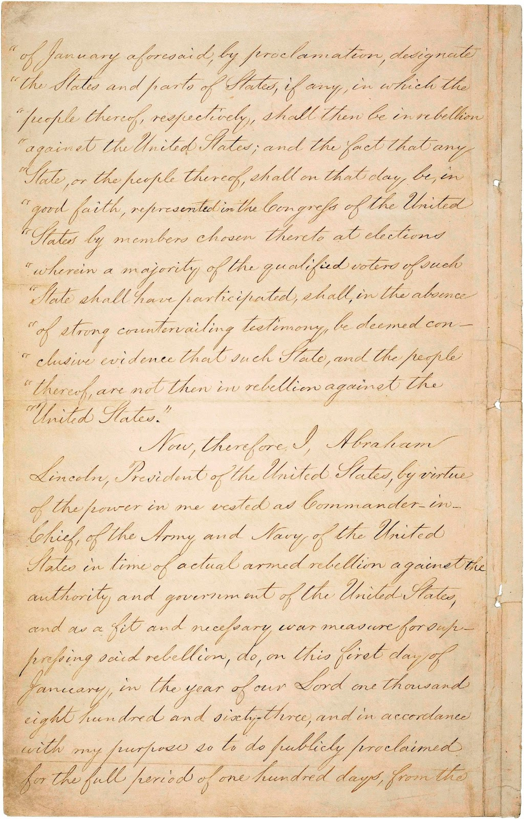 Date of emancipation proclamation in Australia