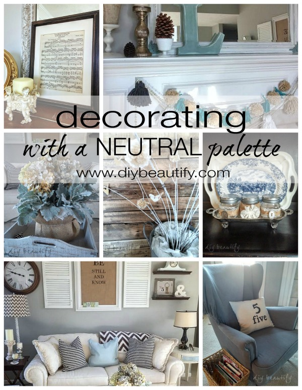 neutrals in decorating