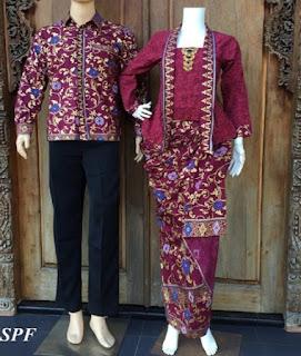 jual baju batik couple lengan panjang
