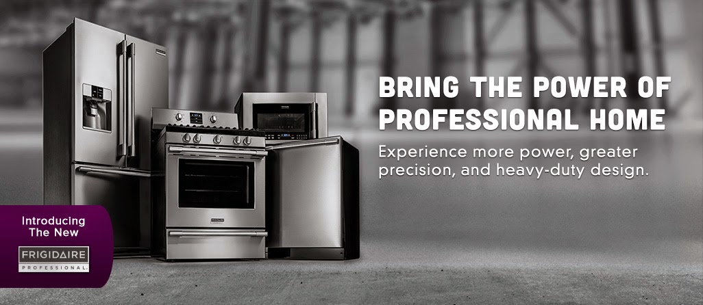 Professional Kitchen Appliances Undermount Double Sink New Frigidaire Suite Of Makes Dream Kitchens An Affordable Reality