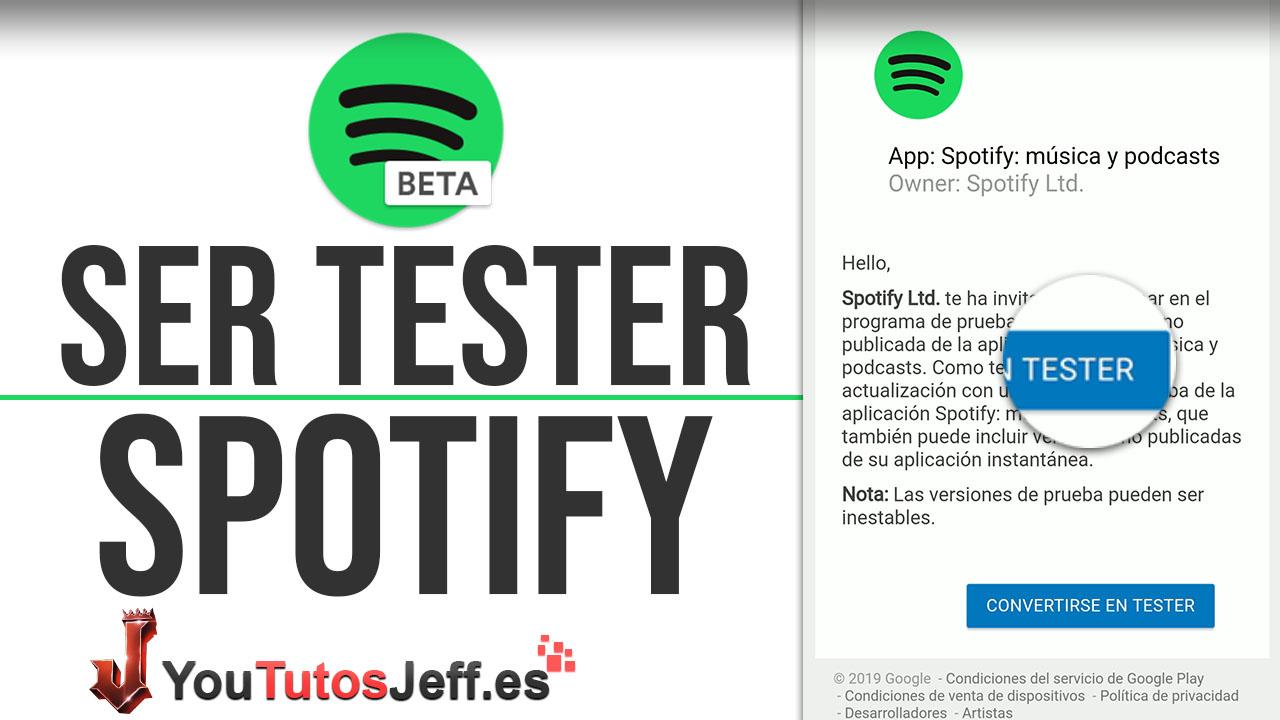 Como Ser Beta Spotify - Recibir Funciones Nuevas de Spotify Antes que Otros