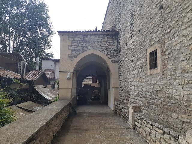 Tarihi Cinci Hamamı girişi. - Safranbolu, Karabük
