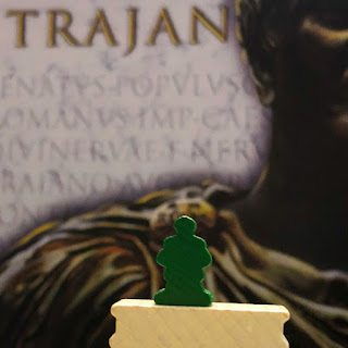 Trajan Board Game Review, Renegade Game Studios, Photo by Benjamin Kocher