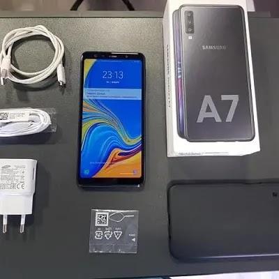 سعر مواصفات ومميزات وعيوب (Samsung Galaxy A7 (2018 سامسونج ايه 7 2018