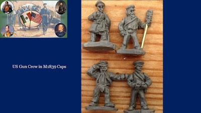 MAWUS14 - US Gun Crew in M1839 Caps