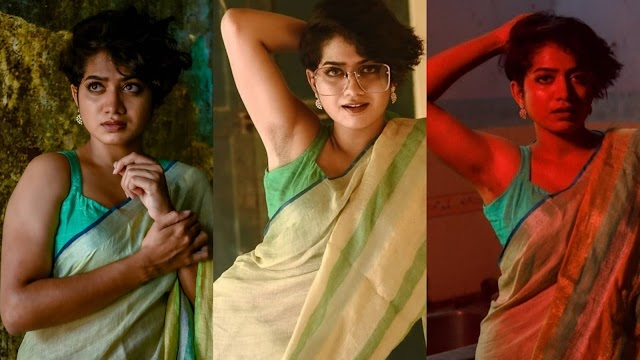 Anarkali Marikar Hot Photos in Saree