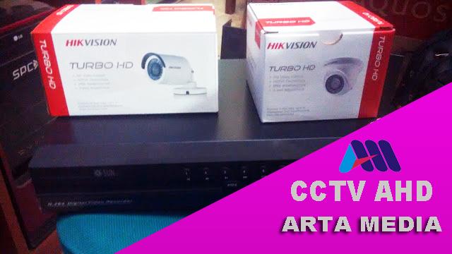 Harga Paket Murah CCTV AHD untuk Toko / Kantor - ARTA MEDIA