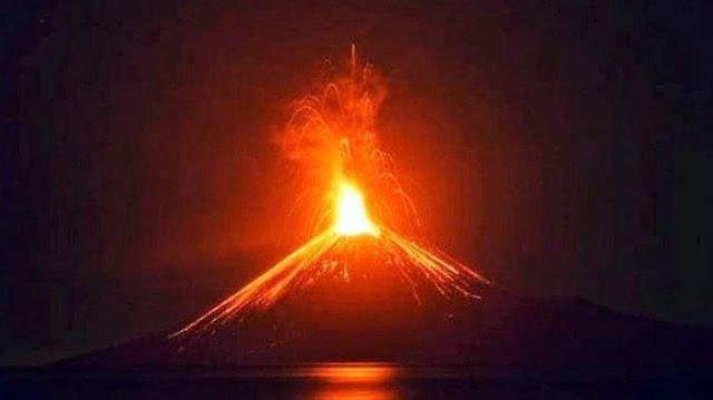 Status Terkini Gunung Anak Krakatau, 1.500 Warga Pulau Sebesi dan Pulau Sebuku Diungsikan